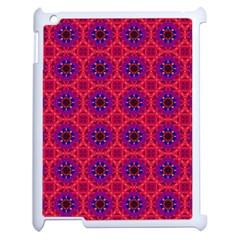 Retro Abstract Boho Unique Apple Ipad 2 Case (white) by Nexatart