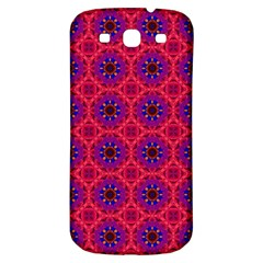 Retro Abstract Boho Unique Samsung Galaxy S3 S Iii Classic Hardshell Back Case by Nexatart