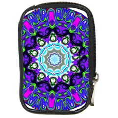 Graphic Isolated Mandela Colorful Compact Camera Cases by Nexatart