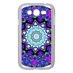 Graphic Isolated Mandela Colorful Samsung Galaxy Grand Duos I9082 Case (white) by Nexatart