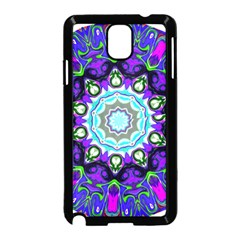 Graphic Isolated Mandela Colorful Samsung Galaxy Note 3 Neo Hardshell Case (black) by Nexatart