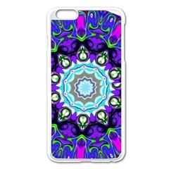 Graphic Isolated Mandela Colorful Apple Iphone 6 Plus/6s Plus Enamel White Case by Nexatart