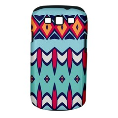 Rhombus hearts and other shapes       Samsung Galaxy S II i9100 Hardshell Case (PC+Silicone) by LalyLauraFLM