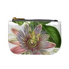 Passion Flower Flower Plant Blossom Mini Coin Purses by Nexatart