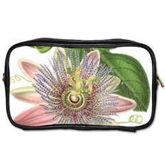Passion Flower Flower Plant Blossom Toiletries Bags by Nexatart