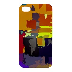 Abstract Vibrant Colour Apple Iphone 4/4s Hardshell Case by Nexatart