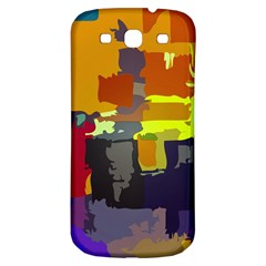 Abstract Vibrant Colour Samsung Galaxy S3 S Iii Classic Hardshell Back Case by Nexatart