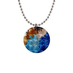 Painted Texture              1  Button Necklace by LalyLauraFLM