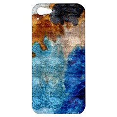 Painted Texture        Apple Iphone 5 Hardshell Case by LalyLauraFLM