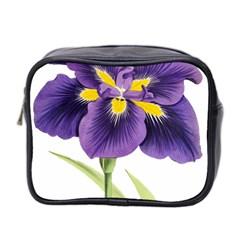 Lily Flower Plant Blossom Bloom Mini Toiletries Bag 2 Side by Nexatart
