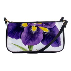 Lily Flower Plant Blossom Bloom Shoulder Clutch Bags by Nexatart