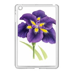 Lily Flower Plant Blossom Bloom Apple Ipad Mini Case (white)