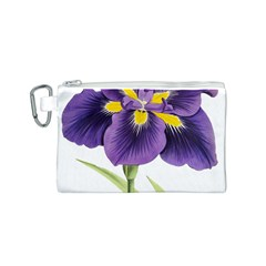 Lily Flower Plant Blossom Bloom Canvas Cosmetic Bag (s) by Nexatart