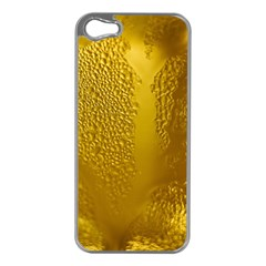 Beer Beverage Glass Yellow Cup Apple Iphone 5 Case (silver) by Nexatart