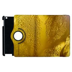 Beer Beverage Glass Yellow Cup Apple Ipad 2 Flip 360 Case by Nexatart