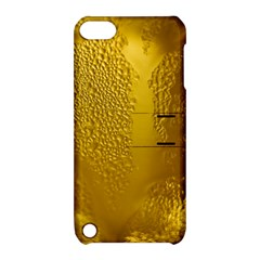 Beer Beverage Glass Yellow Cup Apple Ipod Touch 5 Hardshell Case With Stand by Nexatart