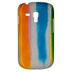 Watercolors stripes       Samsung Galaxy Ace Plus S7500 Hardshell Case by LalyLauraFLM