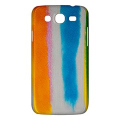 Watercolors stripes       Samsung Galaxy Duos I8262 Hardshell Case by LalyLauraFLM
