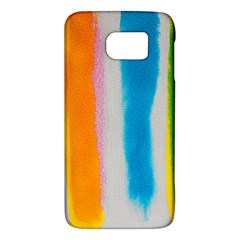 Watercolors Stripes       Htc One M9 Hardshell Case by LalyLauraFLM