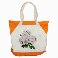 Flower Plant Blossom Bloom Vintage Accent Tote Bag by Nexatart