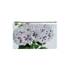 Flower Plant Blossom Bloom Vintage Cosmetic Bag (small)  by Nexatart