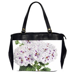 Flower Plant Blossom Bloom Vintage Office Handbags (2 Sides)  by Nexatart