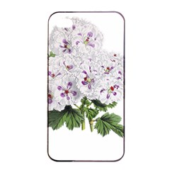 Flower Plant Blossom Bloom Vintage Apple Iphone 4/4s Seamless Case (black) by Nexatart