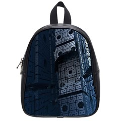 Graphic Design Background School Bags (small)  by Nexatart