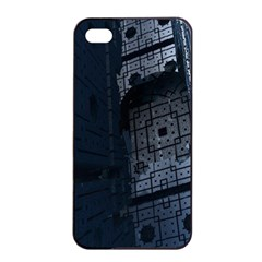 Graphic Design Background Apple Iphone 4/4s Seamless Case (black) by Nexatart