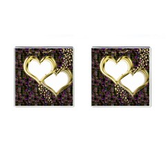 Lover Romantic Couple Apart Cufflinks (square) by Nexatart