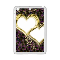 Lover Romantic Couple Apart Ipad Mini 2 Enamel Coated Cases by Nexatart