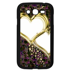 Lover Romantic Couple Apart Samsung Galaxy Grand Duos I9082 Case (black) by Nexatart