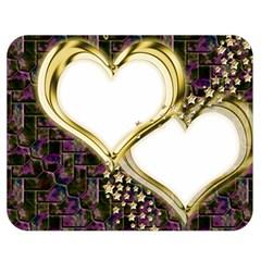 Lover Romantic Couple Apart Double Sided Flano Blanket (medium)  by Nexatart