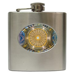 Arches Architecture Cathedral Hip Flask (6 Oz) by Nexatart