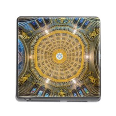 Arches Architecture Cathedral Memory Card Reader (square) by Nexatart