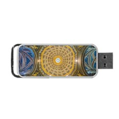 Arches Architecture Cathedral Portable Usb Flash (two Sides) by Nexatart