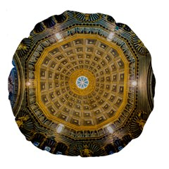 Arches Architecture Cathedral Large 18  Premium Flano Round Cushions by Nexatart