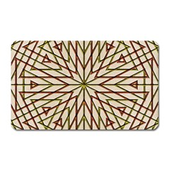 Kaleidoscope Online Triangle Magnet (rectangular) by Nexatart