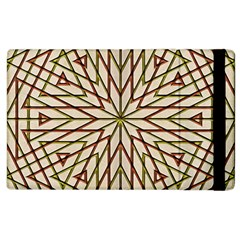 Kaleidoscope Online Triangle Apple Ipad 3/4 Flip Case by Nexatart