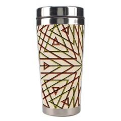 Kaleidoscope Online Triangle Stainless Steel Travel Tumblers by Nexatart