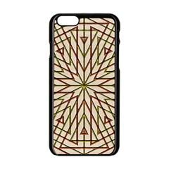 Kaleidoscope Online Triangle Apple Iphone 6/6s Black Enamel Case by Nexatart