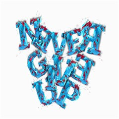 Sport Crossfit Fitness Gym Never Give Up Canvas 20  X 24   by Nexatart