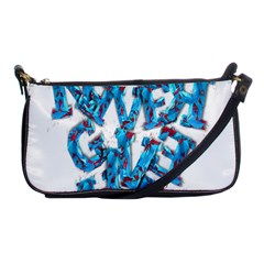 Sport Crossfit Fitness Gym Never Give Up Shoulder Clutch Bags by Nexatart