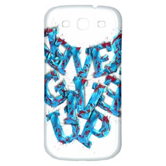 Sport Crossfit Fitness Gym Never Give Up Samsung Galaxy S3 S Iii Classic Hardshell Back Case by Nexatart