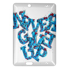 Sport Crossfit Fitness Gym Never Give Up Amazon Kindle Fire Hd (2013) Hardshell Case by Nexatart