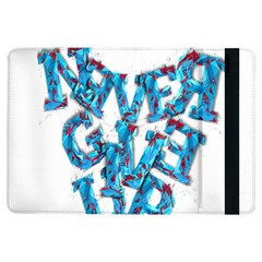 Sport Crossfit Fitness Gym Never Give Up Ipad Air Flip by Nexatart