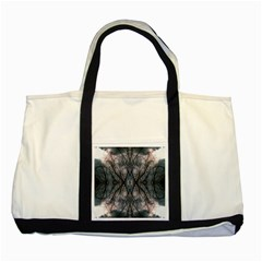 Storm Nature Clouds Landscape Tree Two Tone Tote Bag by Nexatart