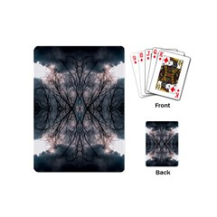 Storm Nature Clouds Landscape Tree Playing Cards (mini)  by Nexatart