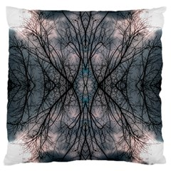 Storm Nature Clouds Landscape Tree Large Cushion Case (two Sides) by Nexatart