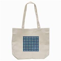 Geometric Dots Pattern Rainbow Tote Bag (cream) by Nexatart